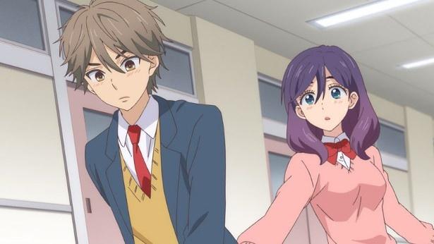 TVアニメ「私がモテてどうすんだ」キービジュアル第2弾&第1話場面カットが到着!