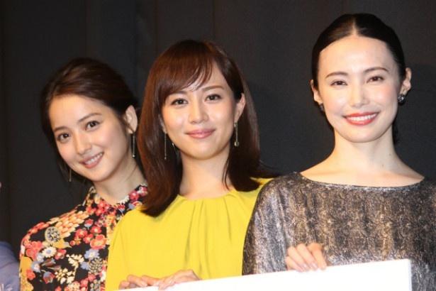 『カノン』で美人姉妹を演じた比嘉愛未、ミムラ、佐々木希