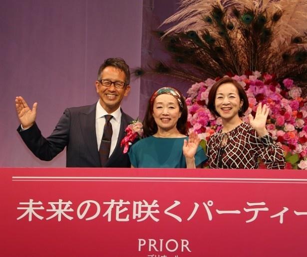 9月14日(水)、東京国際フォーラム(東京・丸の内)にて開催された「未来の花咲くパーティ」withプリオール