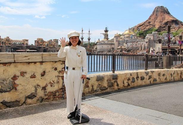 カストーディアルキャストとして、15年間勤務し続けている吉川文子さん
