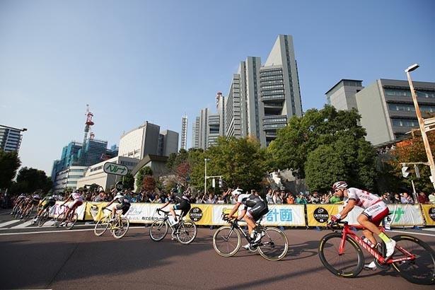 【写真を見る】国内外から大勢のサイクルロードレースファンが観戦に訪れている