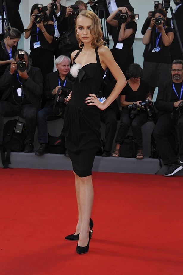 ヴェネチア映画祭で、リリーは妖艶な魅力が絶賛された
