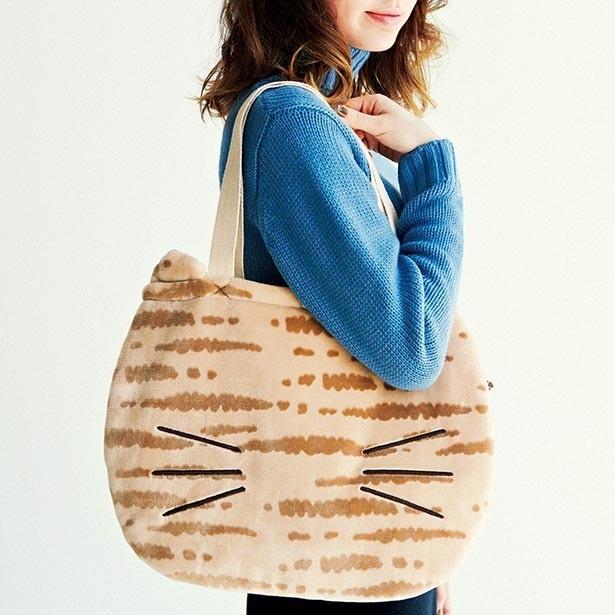 「もふもふに包まれる しましま猫のトートバッグの会」月1個 2800円(税抜)