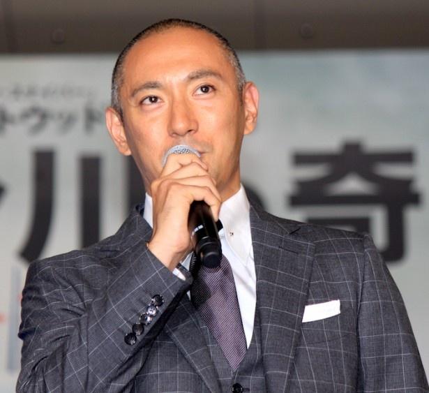 日本代表ゲストの市川海老蔵