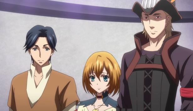 TVアニメ「エンドライド」第22話の先行カット到着!瞬たちの前にイベルダが立ちふさがる