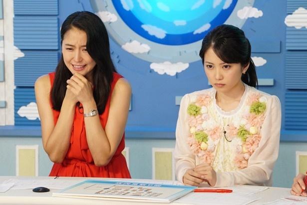 事件に巻き込まれた澄田をスタジオから心配する小川