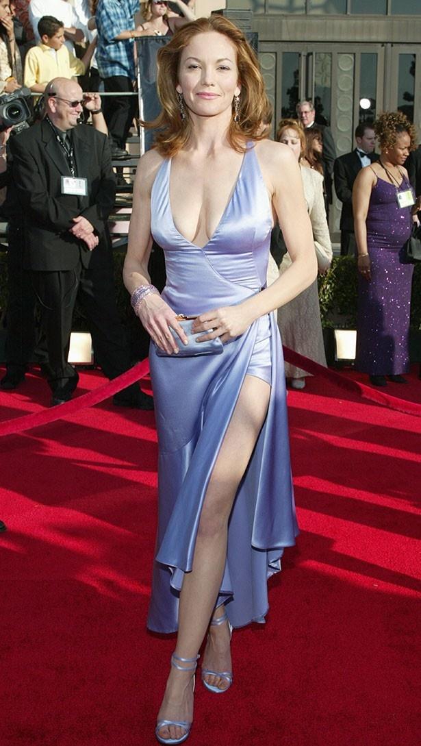 2003年、セクシーなドレス姿でイベントに登場したダイアン