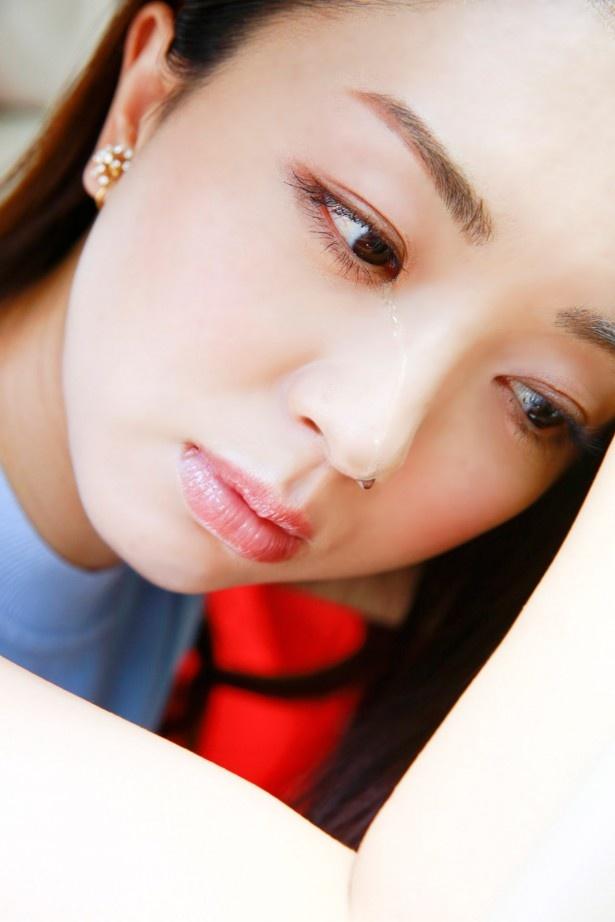 【写真】大粒の涙を流す祥子!いったい何が…!?