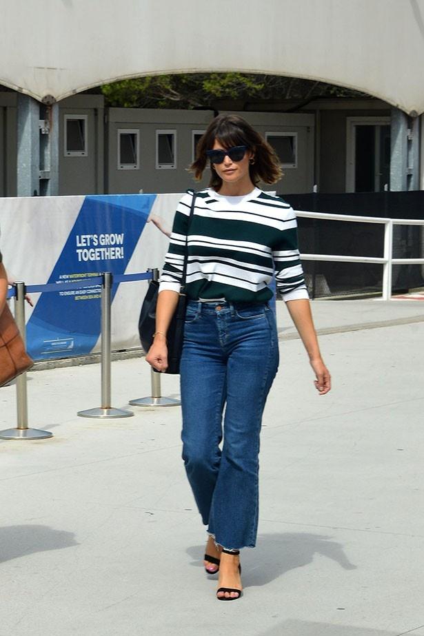 ヴェネチアでは私服までもベストドレッサー候補となったジェマ