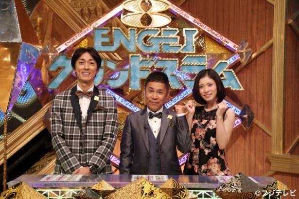 【写真を見る】松岡茉優(右)はTKOのネタに「お腹が痛い」