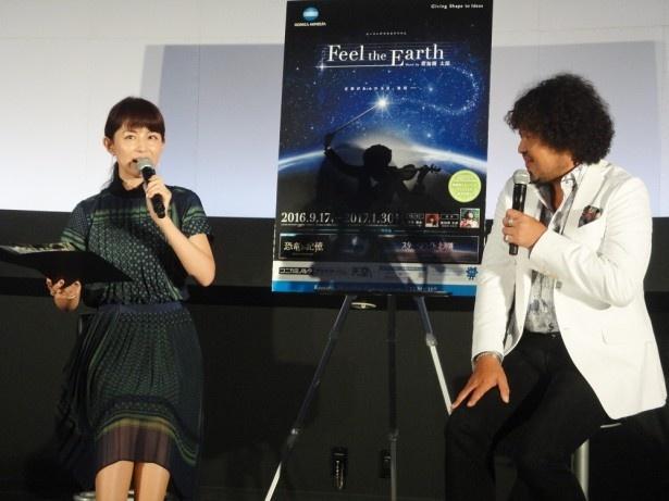 【写真を見る】 「大阪をイメージして書いた曲がロンドンの街に似合って驚いた」と語る葉加瀬