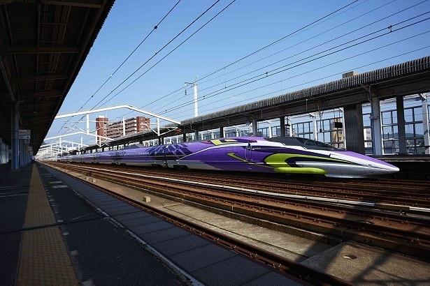 昨年11月から山陽新幹線で運転中の「500 TYPE EVA」車両