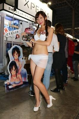 美人コンパニオンin東京ゲームショウ2016 5/40