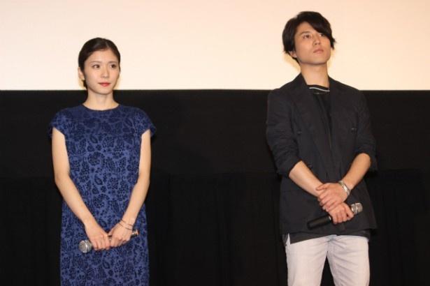 石田将也役(高校生時代)の声優・入野自由と小学生時代の将也の声優を務めた松岡茉優