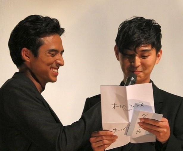 【写真を見る】初日舞台挨拶不在となったオダギリジョー。彼の手紙を松田が読み上げた