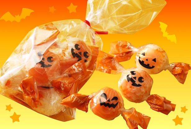 【写真を見る】ひと口サイズで食べやすい!「ハロウィン 手まり寿司」