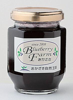 自家製レシピで丁寧に作った「オリジナル ブルーベリー・ジャム」(700)/「ブルーベリーファームおかざき」(愛知県岡崎市)