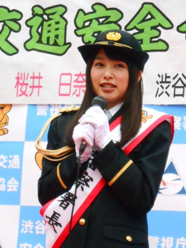 【写真を見る】昨年の岡山に続き、1日署長は2度目