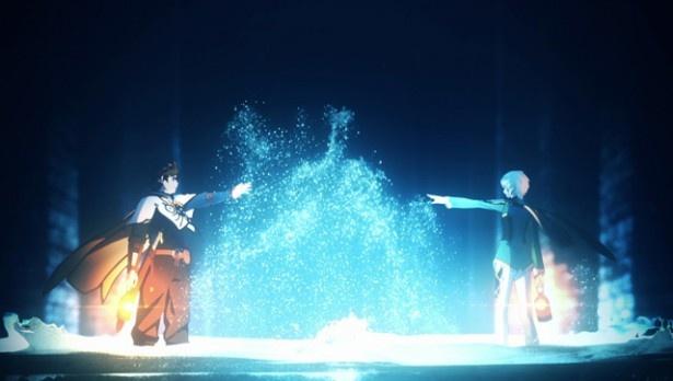 スレイとミクリオはマーリンドを復興するべく、街の水の浄化を行っていく