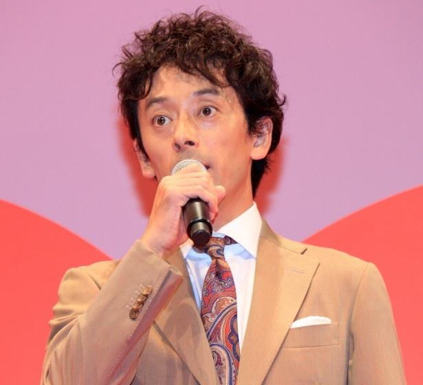 『SCOOP!』完成披露試写会に登壇した滝藤賢一