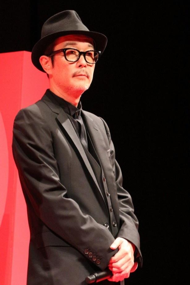 大根仁監督の映画には今まで全部出演しているというリリー。本作では情報屋を演じる