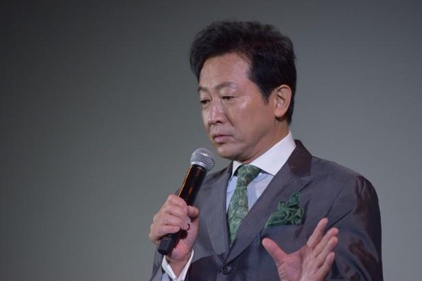 辰巳琢郎は、アオイの叔父・イチロウ役で出演