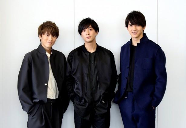 「HANDSOME FESTIVAL 2016」に出演する松島庄汰、渡部秀、甲斐翔真(写真左から)