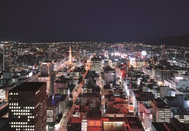 日本新三大夜景に認定された札幌の夜景のクーポンも用意