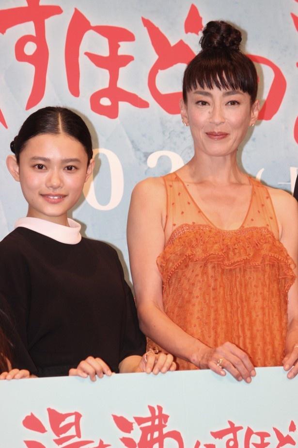 宮沢りえと杉咲花が親子役で共演
