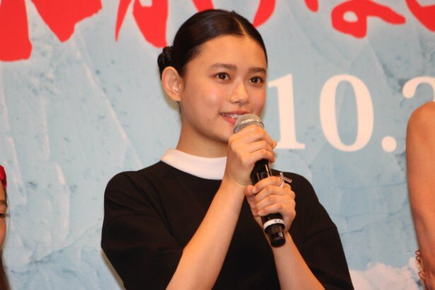 娘・幸野安澄役の杉咲花