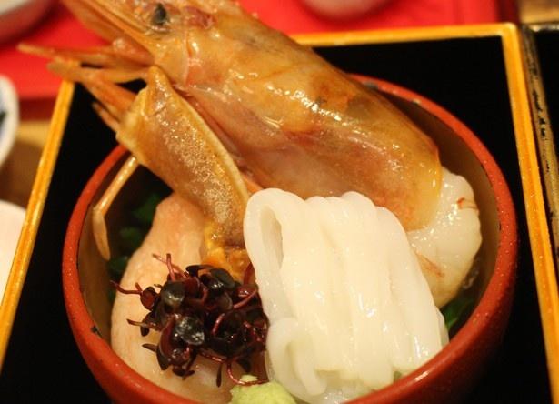 北海道が誇る海の幸を贅沢に使用!