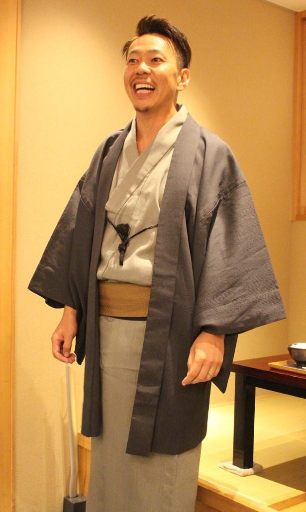 八代目儀兵衛 代表取締役社長の橋本 隆志氏