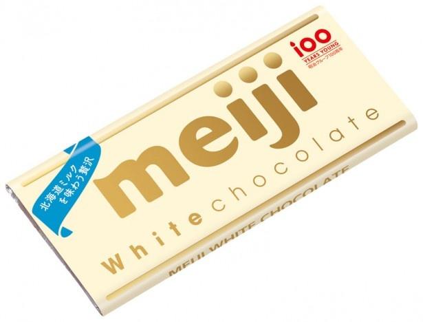 キャンペーン対象商品「ホワイトチョコレート」
