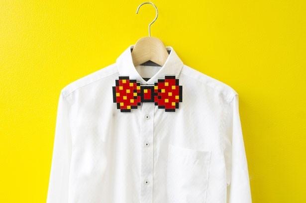 世界に1つだけの蝶ネクタイが完成!制作した作品は持ち帰ることができる