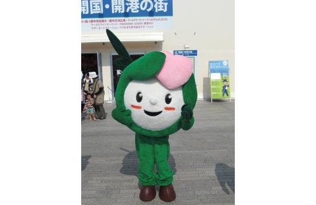 """第61回全国植樹祭のマスコットキャラクター""""かなりんちゃん"""""""