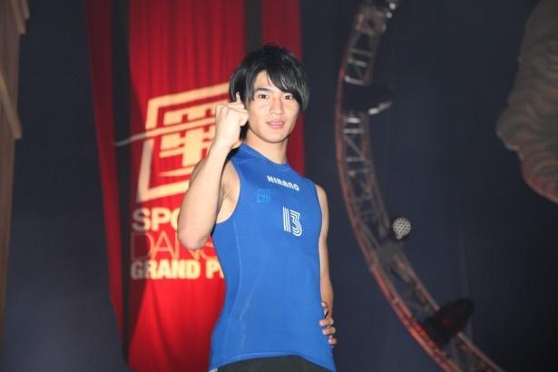 新体操高校総体で団体優勝するなど卓越した身体能力を持つ平野泰新
