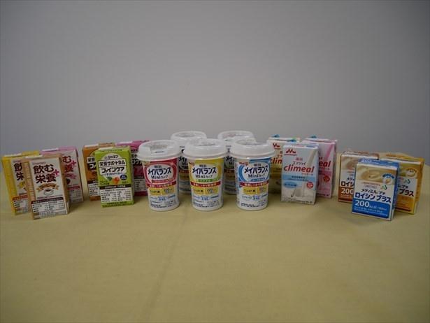 明治「メイバランス」を始めとする栄養調整食品をおいしく活用した予防策も