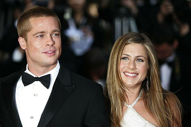 【写真を見る】結婚していた当時のブラッドとジェニファー