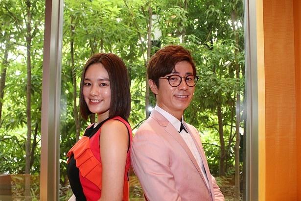 『闇金ウシジマくん Part3』に出演している筧美和子とオリエンタルラジオ・藤森慎吾