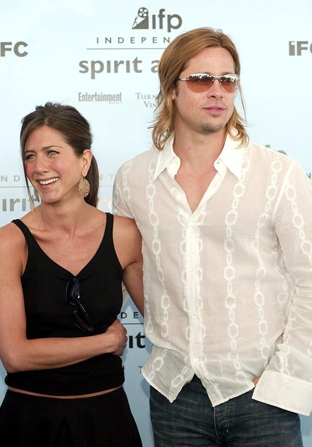 結婚生活5年で離婚したブラッドとジェニファー