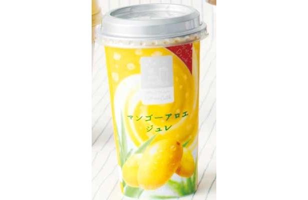 【伊原さん賞】「あじわい Famima Cafe マンゴーアロエジュレ」(ファミリーマート/¥188/127kcal/230g)ジューシーなマンゴーを食べてるみたいにフルーティー!(伊原さん)