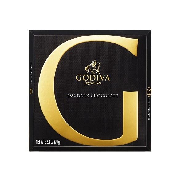 フルーティで香り豊かなダークチョコレートである「ジー バイ ゴディバ 68% ダーク」
