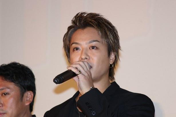 過酷だったという撮影を振り返るTAKAHIRO