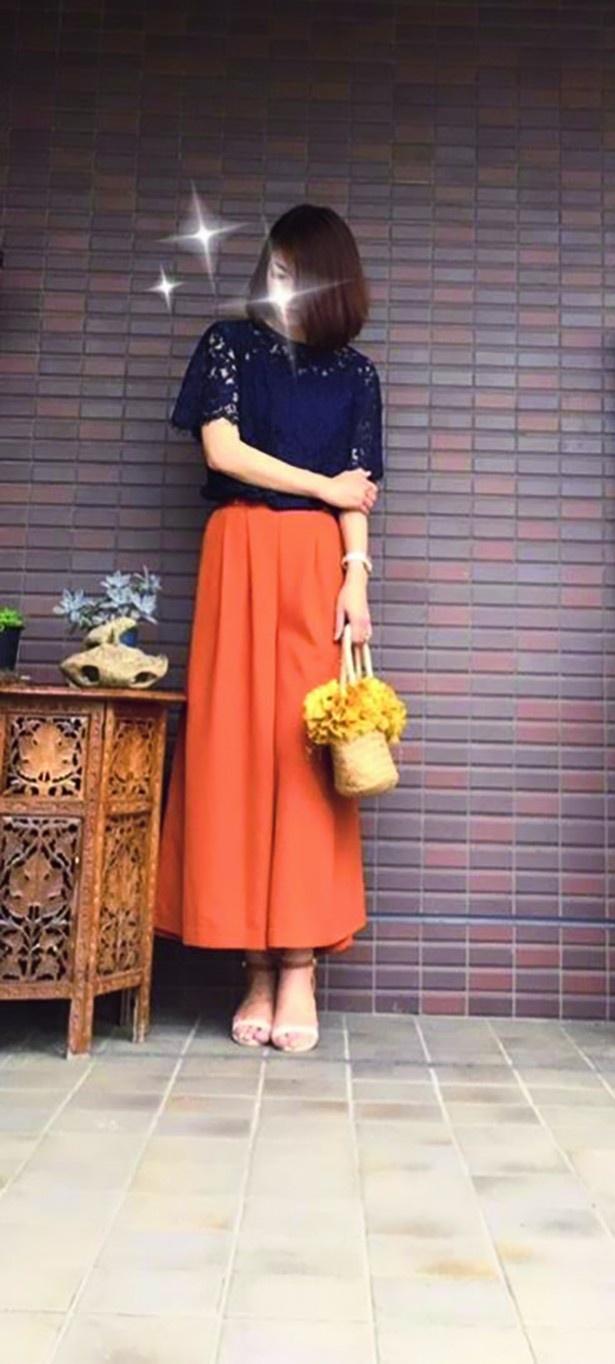 【写真を見る】オフィシャルブログ「アラフォーお受験ママの プチプラM IXファッションコーディネート」のNAOさん