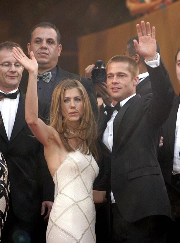 2000年に結婚したブラッドとジェニファーは、2005年に離婚