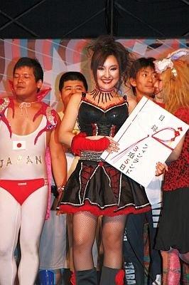 今年の日本大会での、表彰
