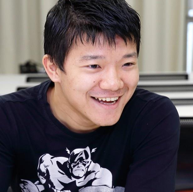 今後の展望を笑顔で語る亀田大毅