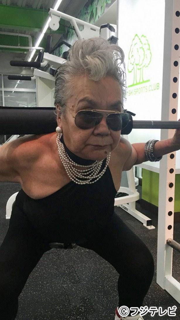 """73歳の""""筋トレ熱中女子""""も紹介する"""