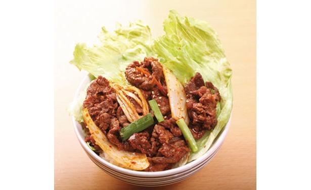 イベントならではの「食」にも注目! こちらはワールドフェスタヨコハマ2008に出店予定のプルコギ丼