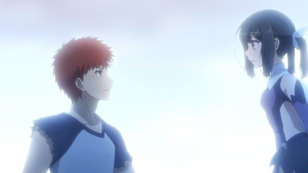 士郎は美遊との再会を喜び、そして守るため投影魔術を駆使しジュリアンに立ち向かう